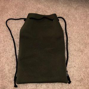Dark green bag